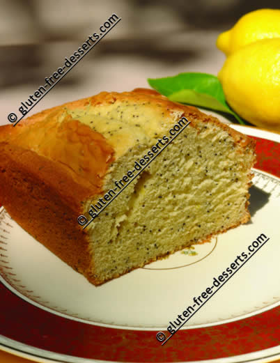 Gluten-Free Lemon Poppy Seed Bread